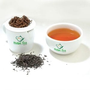 cup of premium halpe tea