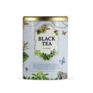 black tea can at halpe tea