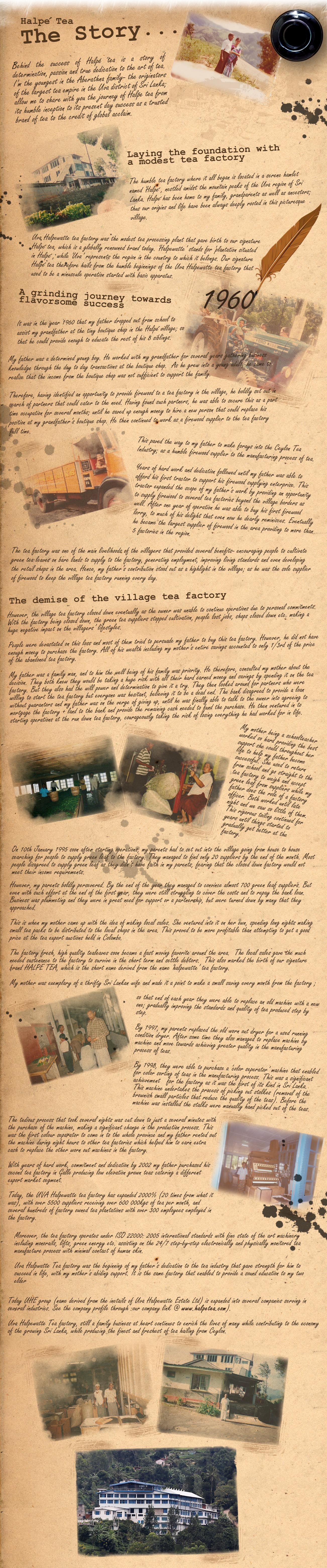 halpe tea story