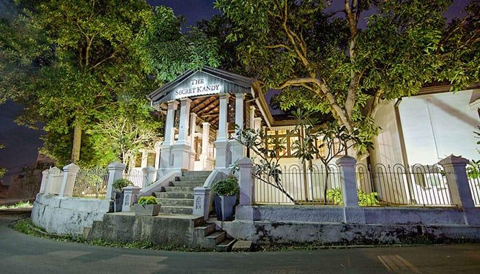 entrance of the secret kandy