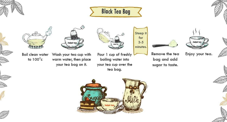 Brewing Instruction Halpe Tea Blog